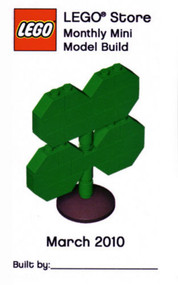 LEGO Shamrock Mini Build Parts & Instructions Kit