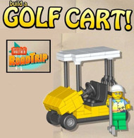LEGO Build Together Road Trip Golf Cart