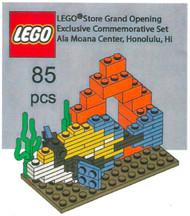 LEGO Fish and Coral Mini Build Parts & Instructions - LEGO Grand Opening Hawaii