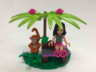 LEGO CLUB Friends Jungle Bench Parts & Instructions