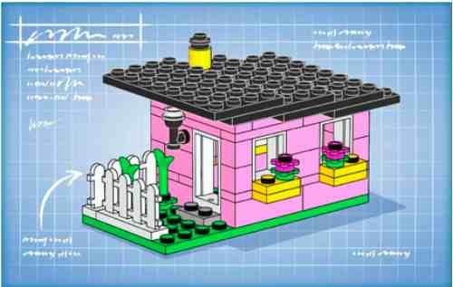 Lego Club Bunny House Parts Instructions Constructibles