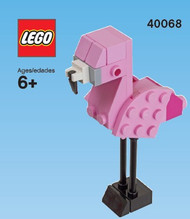 LEGO Flamingo Mini Build Parts & Instructions Kit