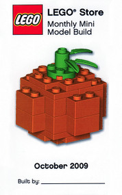 LEGO Pumpkin Mini Build Parts & Instructions Kit