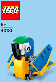 LEGO Parrot Mini Build Parts & Instructions Kit
