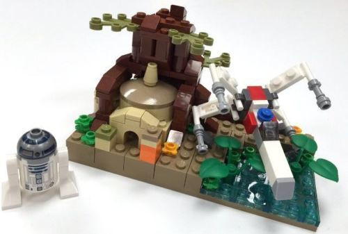 Reproduction Lego Star Wars Sdcc Microscale Dagobah Parts