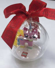 Custom Lego® Unikitty Christmas Holiday Ornament