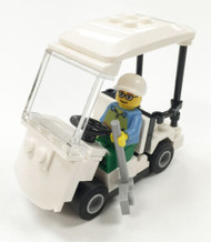 Constructibles Golf Cart Mini Model LEGO Parts & Instructions Kit