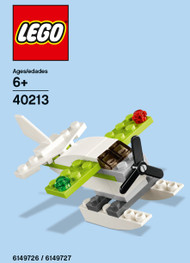 LEGO Seaplane Mini Build Parts & Instructions Kit