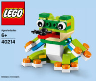 LEGO Frog Mini Build Parts & Instructions Kit