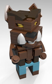 Constructibles® CubeVille Werewolf - LEGO® Parts & Instructions Kit