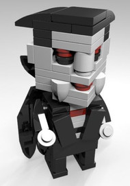 Constructibles® CubeVille Dracula - LEGO® Parts & Instructions Kit