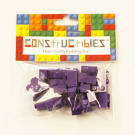 Constructibles® x25 Dark Purple 1x2 Bricks 3004 - LEGO® Bulk Parts