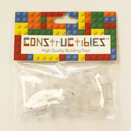 Constructibles® x25 Transparent Clear 1x2 Bricks 3004 3065 - LEGO® Bulk Parts