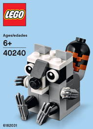 LEGO Raccoon Mini Build Parts & Instructions Kit