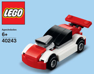 LEGO Race Car Mini Build Parts & Instructions Kit