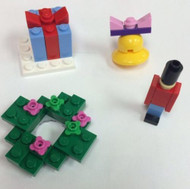 Lego Friends Christmas Mini Sets Parts & Instructions