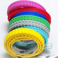 Constructibles® 2-Stud Wide Brick Building Tape - 3.28 ft. Roll
