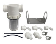 Riva Intercooler Water Filter Kit Universal Sand/Debris; ALL PWC (RY1013-SDF-UK)