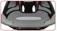 YAMAHA VXR VXS 2011-2014 RIVA GRAY Rear Turf Traction Mat w/ 3M PSA w/ RIVA Logo (RY5-HTRM-060)