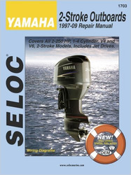 Seloc Manual Yamaha Outboards 1997 - 2003 2 Stroke (1703)