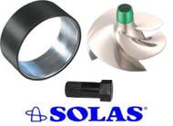 SeaDoo GTX 4-TEC 155 Wear Ring Stainless SOLAS Impeller Tool + Seal SR-CD-11/19