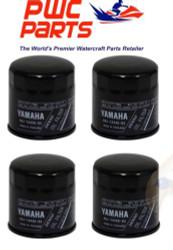 YAMAHA OEM Outboard Oil Filter 4-PACK F150 F200 F225 V6 F250 69J-13440-03-00