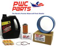 SeaDoo BRP Oil Change Kit 130/155/185 GTX GTI 2004+ 4-TEC Wear Ring 267000419
