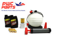 SeaDoo SPARK BRP Oil Change Kit ACE 900 SBT Filter NGK CR8EB Spark Plugs Pump