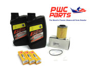 SeaDoo SPARK BRP Oil Change Kit ACE 900 OEM Filter O-Ring CR8EB Spark Plugs
