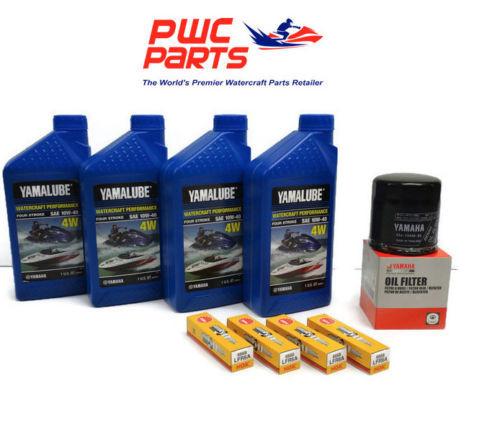 YAMAHA Oil Change Kit Filter FX-HO VXR VXS FZ-SHO 1.8L 69J-13440-03-00 NGK Plugs