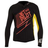 Matrix Wetsuit Jacket Red/Yellow