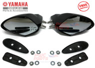 YAMAHA F1S REAR VIEW MIRROR KIT COMPLETE   F1S-U596B-10-00  F1S-U596C-10-00