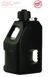 LC2 Fuel Jug w/ Lid Cap Container Fly Racing BLACK ATV MX PWC 5 Gallon 30-1199