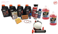 SeaDoo Winterization Oil Change Kit Anti-Freeze with Pump 4-TEC