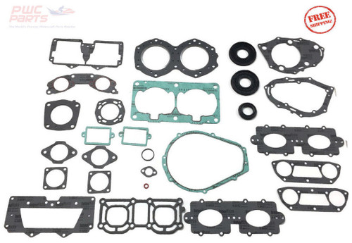 YAMAHA Complete Gasket Kit 1996-2018 SuperJet Super Jet 701 SJ Replaces OEM 64U-W0001-00-00 or SBT 48-402B