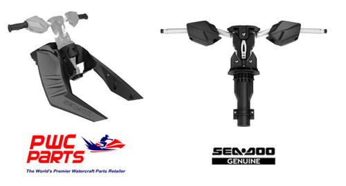 SEADOO   SPARK Adjustable Handle Bar & Riser RetroFit Kit INCLUDES NECESSARY WIRING HARNESS  FITS THE FOLLOWING MODELS ONLY:  Sea-Doo SPARK without iBR (2016 & prior)    PARTS INCLUDED IN KIT:  Sea-Doo SPARK Adjustable Riser Retrofit Kit - 295100702 Sea-Doo SPARK Handlebar with Adjustable Riser- 295100701  SeaDoo Spark Wiring Harness NON-IBR - 278003491  Handlegrips with Palm Rest included - 295100700   Note: Standard equipment on the SPARK TRIXX.      Replaces stock central console to allow for installation of Handlebar w/ Adjustable Riser 295100701.        Handlegrips with Palm Rest included (295100700).       Reinforced design, includes all hardware required for installation