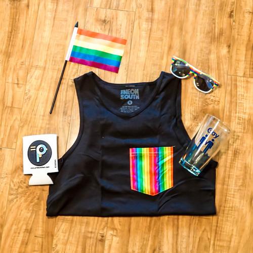 Gay Pride Merchandise with Gay Pride Flag