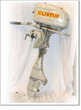 Clinton outboard motor service repair manual download A J K series