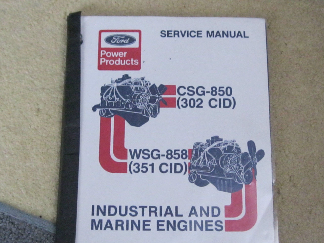 ford 351 marine engine manual