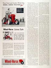 Factory  Wheel Horse tractor service manual B C & D series  71 oem pagesWheel Horse tractor service repair manual B C & D series download