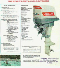Fisher Pierce 55 HP 4 stroke  vintage outboard motor manual download