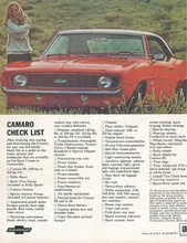 chevrolet camaro master parts and service repair manual 1969