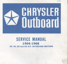 Chrysler outboard 55  Tune up N ignition procedures for magnapower outboards