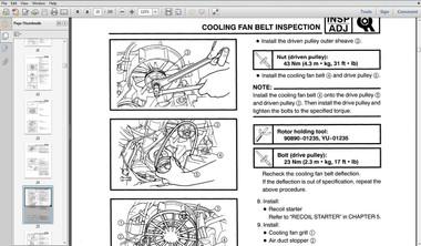 2013 Yamaha RS VIKING Snowmobile Service manual LIT-12618-VK-02