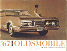 Oldsmobile 1967 service repair manual manual cutlass 98 88 wagon F85 442