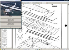Cessna 172 n service manual n engine overhaul 172N manuals D2065-3-13