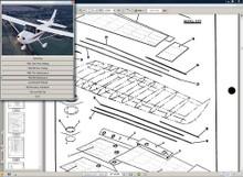 Cessna 172 n service manual n engine overhaul 172N manuals D2065-3-13 w/ A/Ds