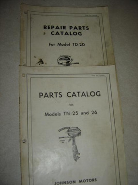 Johnson LT DT vintage outboard motor parts manual download