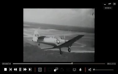 SNJ AT6 ww2 aircraft aerobatic instruction film on dvd WW2 Korean war