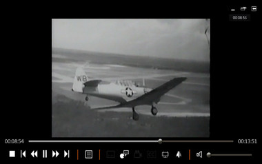 SNJ AT6 ww2 aircraft aerobatic instruction film on dvd